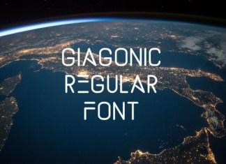 Giagonic Font
