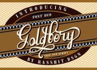 Goldbery Font