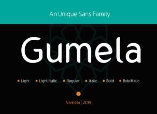Gumela Font