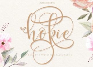 Hokie Font