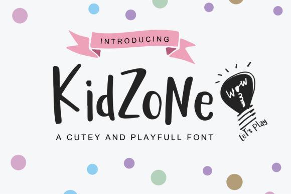 Kidzone Font