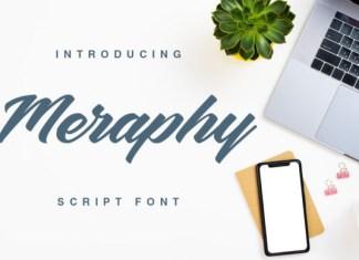 Meraphy Font