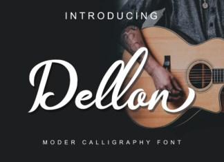Dellon Font