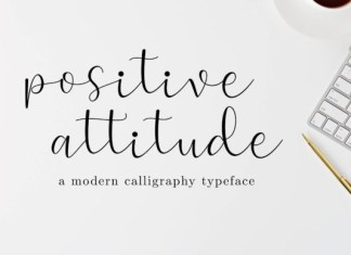 Positive Attitude Font
