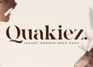 Quakiez Font