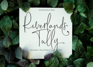 Riverlands Tully Font