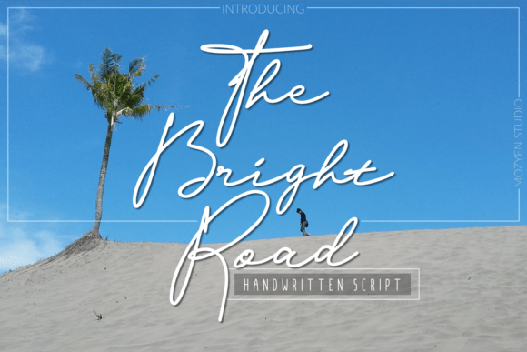 The Bright Road Font