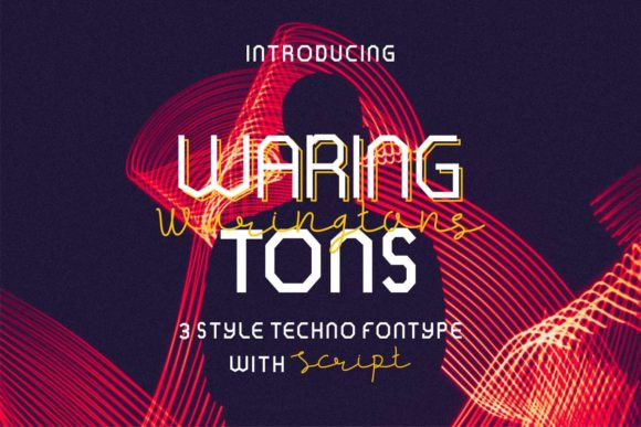 Waring Tons Font