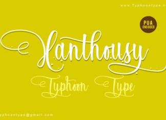 Xanthousy Font