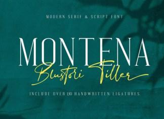 Montena & Blustori Tiller Font