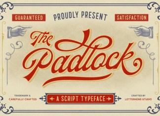 The Padlock Font