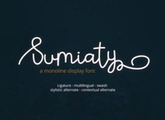 Sumiaty Font