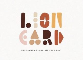 Lion Card Font
