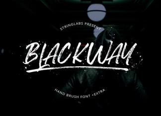 Blackway Font