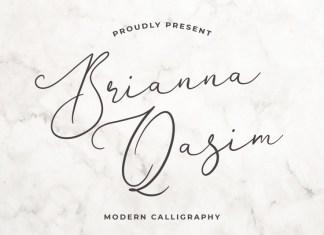 Brianna Qasim Font
