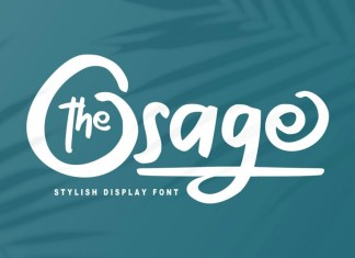 The Osage Font
