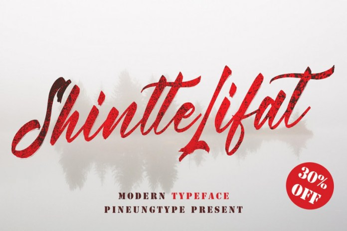 Shintte Lifat Font