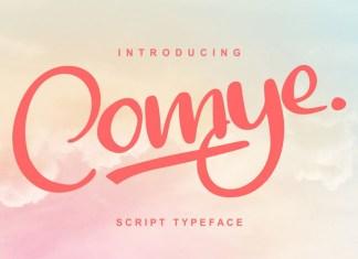 Comye Font