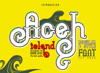 Aceh Island Font