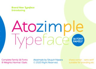 Atozimple Font