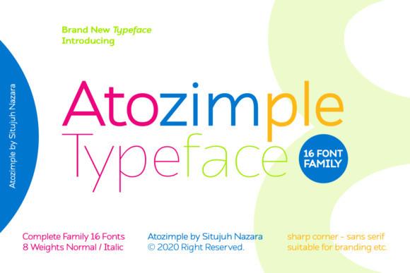 Atozimple Font