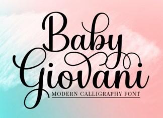 Baby Giovani Font