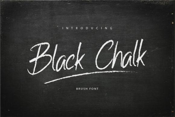 Black Chalk Font