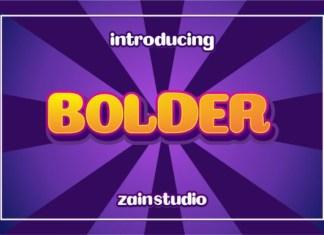 Bolder Font