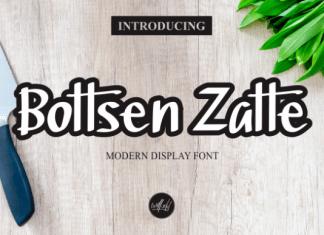 Bottsen Zatte Font