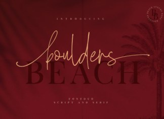 Boulders Beach Font