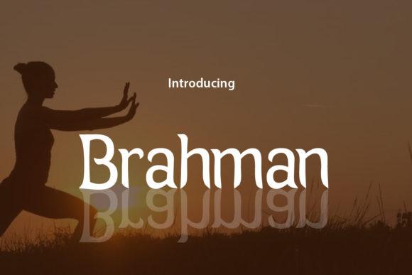 Brahman Font