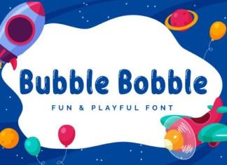 Bubble Bobble Font