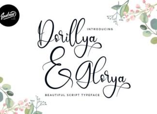 Dorillya & Glorya Font