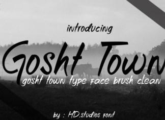Gosht Town Font