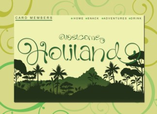 Holiland Font