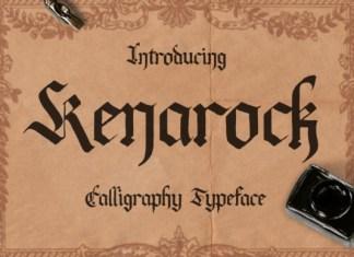 Kenarock Blackletter Font