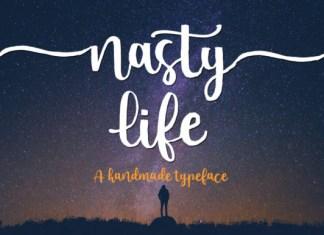Nasty Life Font