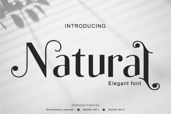 Natural Font