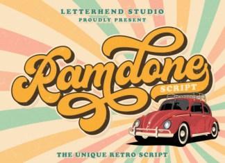 Ramdone Font