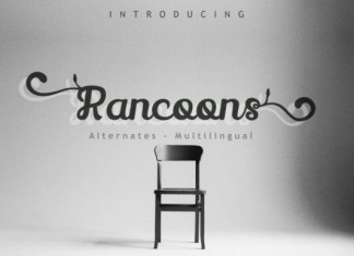 Rancoons Font