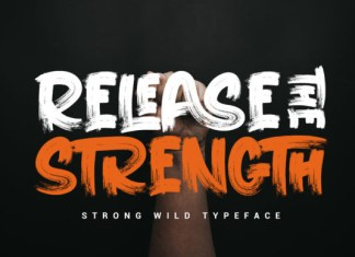 Release the Strength Font