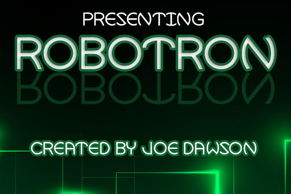 Robotron Font