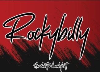 Rockybily Font