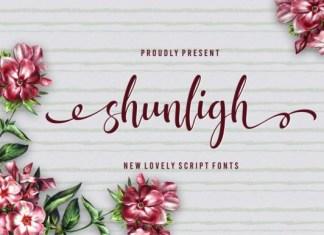 Shunligh Font