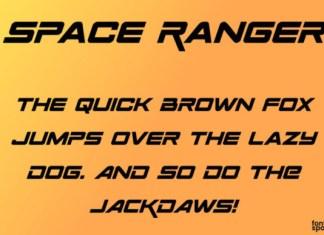 Space Ranger Font