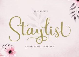 Staylist Font