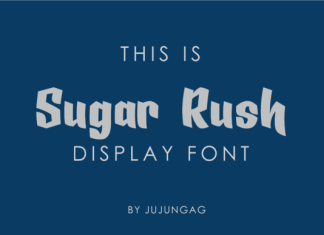 Sugar Rush Font