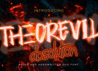 Theorevil Absolution Font