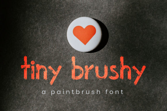 Tiny Brushy Font