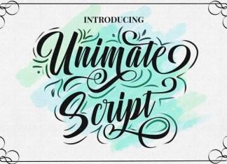 Unimate Font